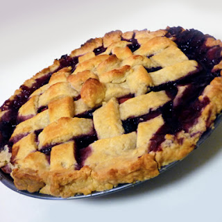 Blueberry-Strawberry-Cranberry Pie.