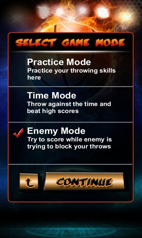 Basketball JAM 2 Shooting - screenshot