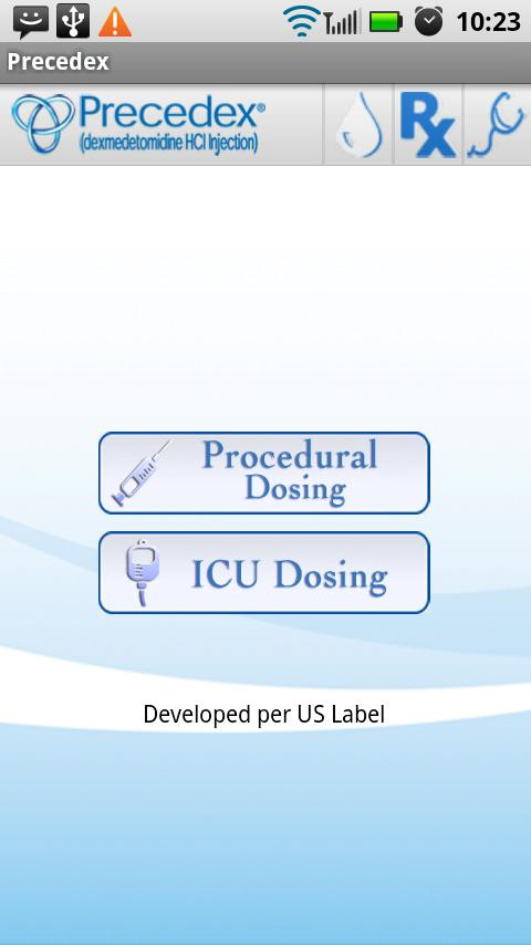 Precedex (Dexmedetomidine) USA - screenshot