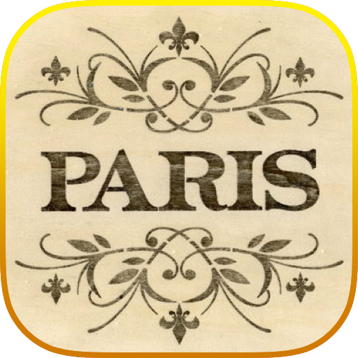 Paris Word Wallpaper LOGO-APP點子
