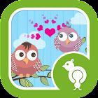 Go Locker Love Birds Theme icon