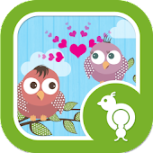 Go Locker Love Birds Theme
