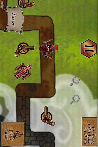 Pirates vs Ninjas Deluxe TD - screenshot