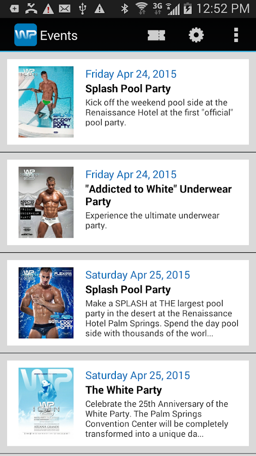 White Party Palm Springs- screenshot