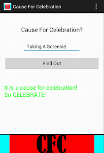 Cause For Celebration - screenshot thumbnail