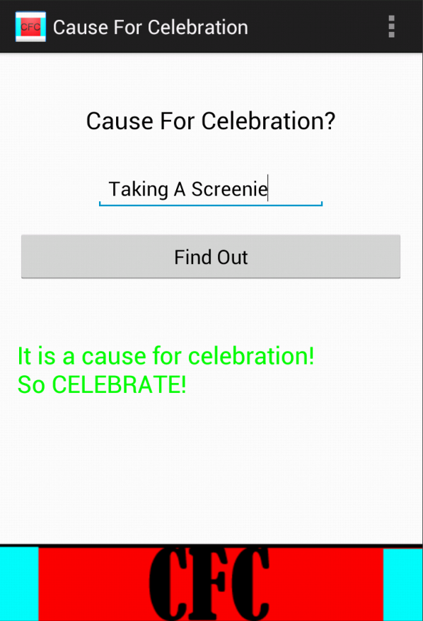 Cause For Celebration - screenshot