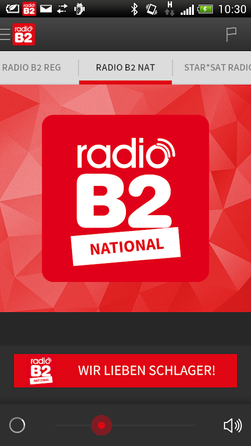 radio B2- screenshot