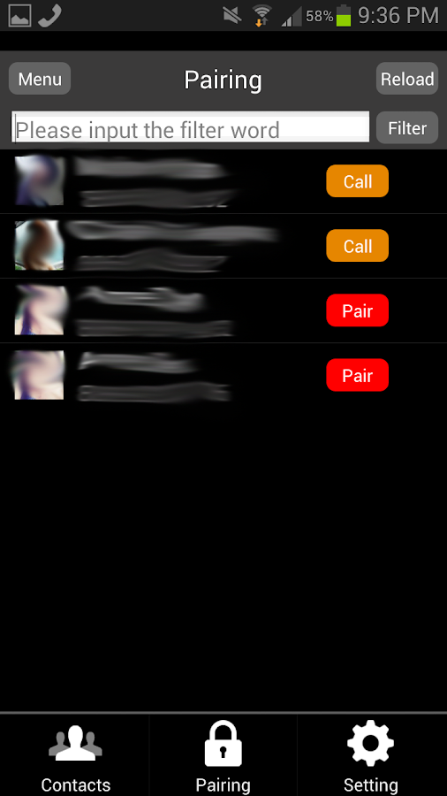 Invisible Call - screenshot