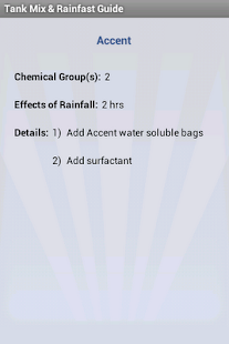 Tank Mix & Rainfast Guide- screenshot thumbnail