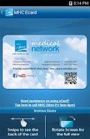 Screenshot of MHC Clinic Network Locator