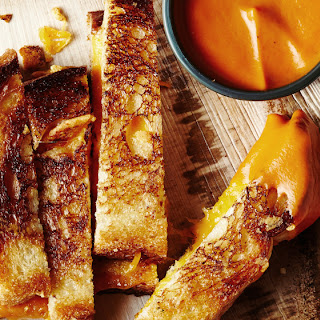 Tomato Grilled-Cheese Soup