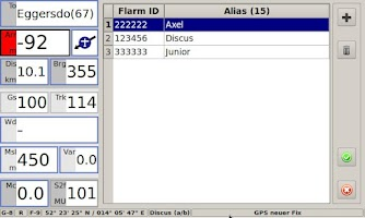 Screenshot of Cumulus from kflog.org