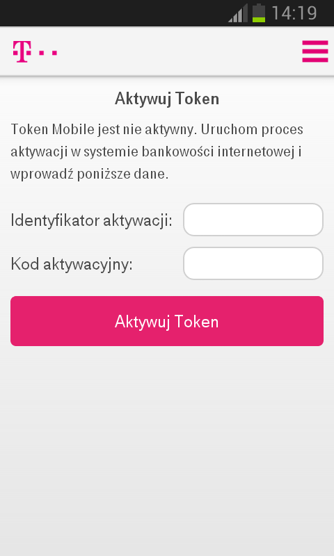 Token Mobile - screenshot