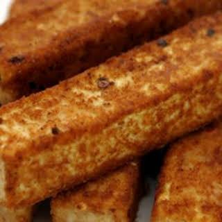 Savory Grilled Tofu On-A-Stick.