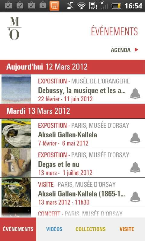 Museo d'Orsay - screenshot