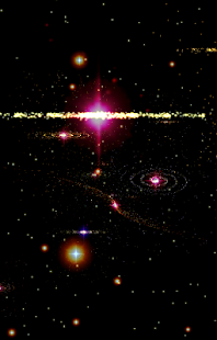 3D Stars Journey -Universe LWP - screenshot thumbnail