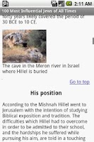 Screenshot of 100 Most Influential Jews