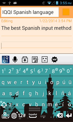 IQQI Spanish Keyboard