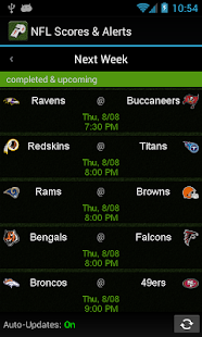 NFL Scores & Alerts - screenshot thumbnail