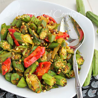 Spicy Curried Okra (Throwback Thursday).