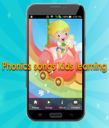 Phonics songs kids learning