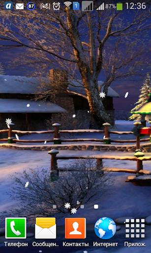 Snow Wallpaper 3D