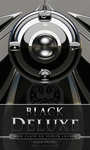GO Locker Theme Black Deluxe