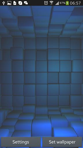 Cubes 3D Live Wallpaper Free