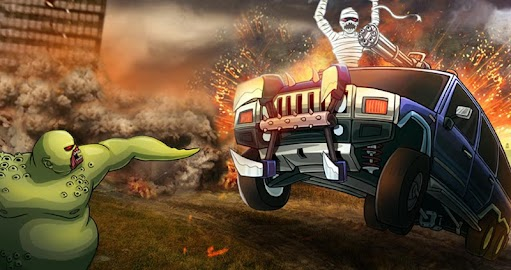 Monster Car Hill Racer Screenshot 6