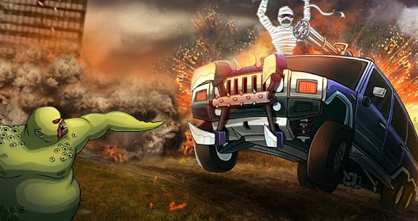 Monster Car Hill Racer Screenshot 6