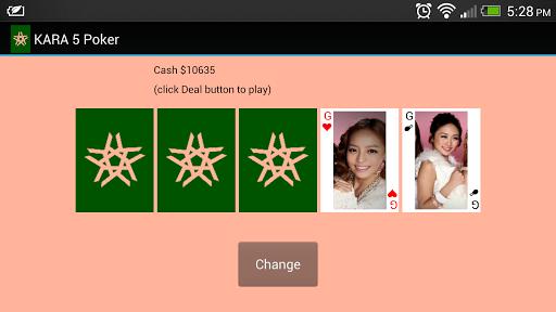 【免費紙牌App】KARA 5 Poker-APP點子