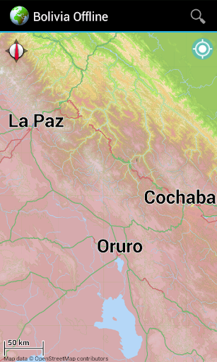 Offline Map Bolivia