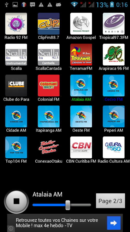 Radios Brazil - screenshot