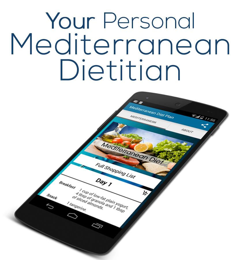 Mediterranean Diet Plan- screenshot