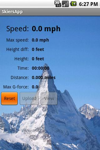 SkiersApp- screenshot