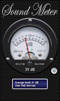 Screenshot of Sound Meter