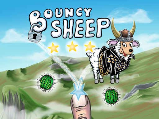 Bouncy sheep - The Saga Begins