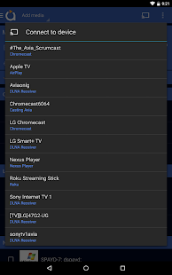 Avia Media Player (Chromecast)- screenshot thumbnail