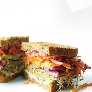 California Veggie Sandwich.