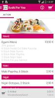 Screenshot of Sushi For You