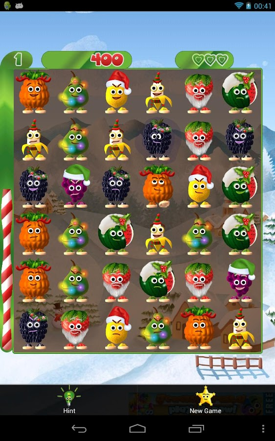 Fruits & Fun Xmas - screenshot
