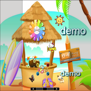 Cartoon Beach lwp demo