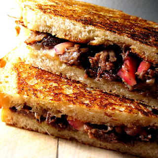 Chef Govind Armstrong's Short Rib Grilled Cheese Sandwich {recipe} – Believer.