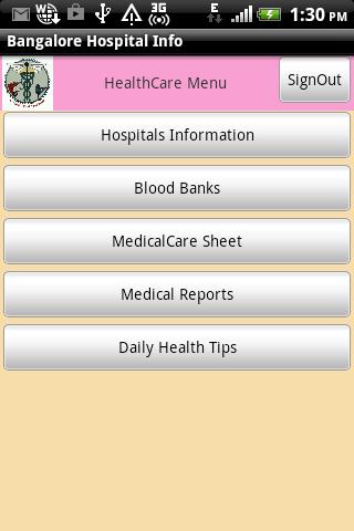 Bangalore Hospital Info