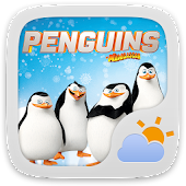 Penguins Of MG Weather Widget
