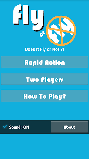 Fly or No-Fly