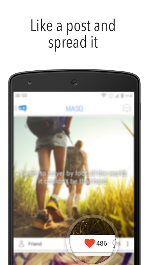 MASQ Share & Discover Secrets- screenshot