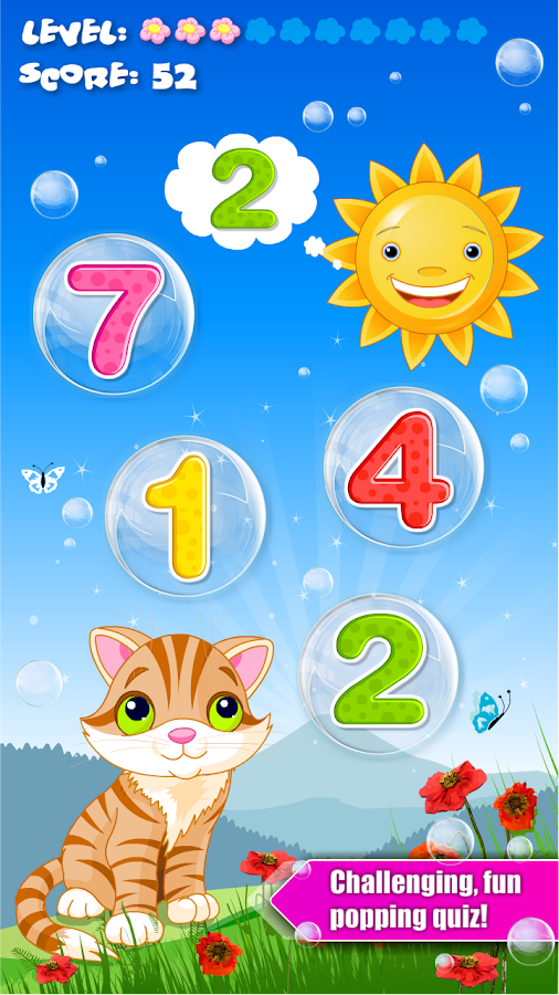 Bubbles School for Toddlers- screenshot