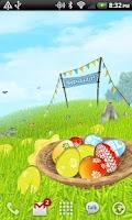 Screenshot of Easter Meadows Live Wallpaper