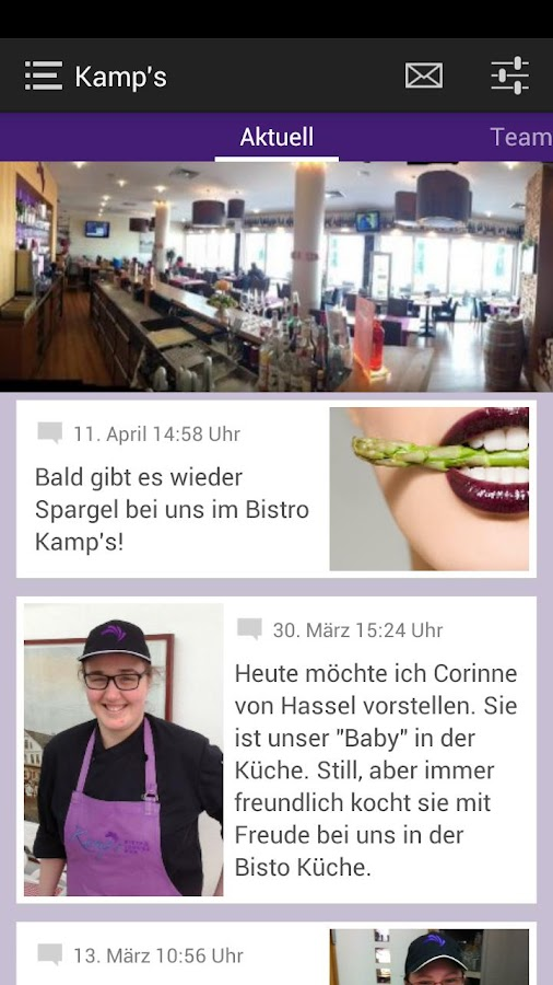 Kamp's Bistro Lounge Bar - screenshot